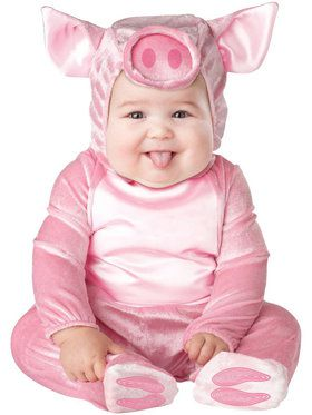 Infant Toddler This Lil Piggy Costume
