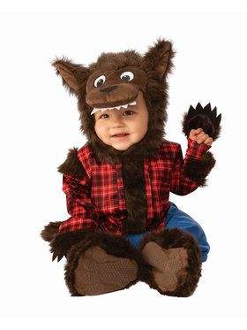 Baby's Little Werewolf Costume