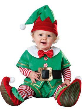 Infant-Toddler's Santa's Lil Elf Costume