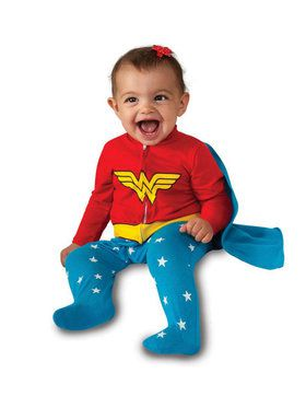 Wonder Woman Romper Infant Costume