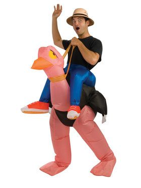 Adult Inflatable Ride An Ostrich Costume