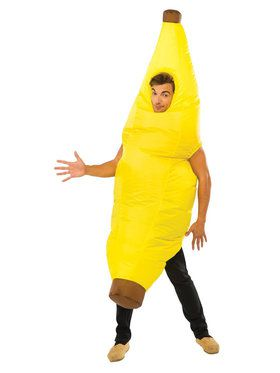Inflatable Banana Costume For Adults