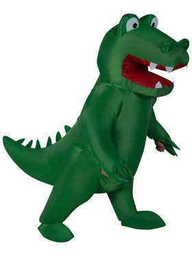 Adult Inflatable Alligator Costume For Adults