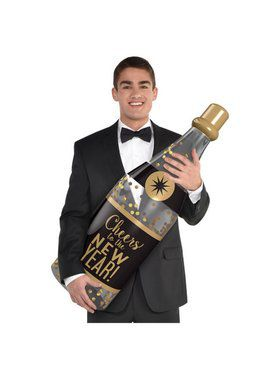Inflatable Champagne Bottle Prop