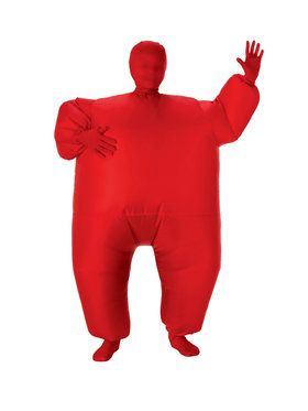 Red Inflatable Kids Costume