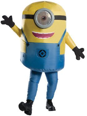Inflatable Minion Stuart Men's Costume