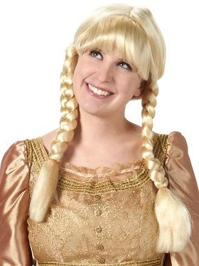 Inga from Sweden Wig (Blonde)