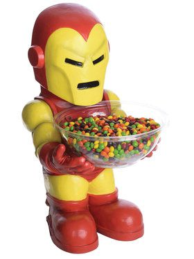 Iron Man Halloween Candy Holder