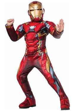 Iron Man Super Deluxe Child Costume