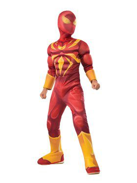 Iron Spider Muscle Chest Deluxe Costume for Kids
