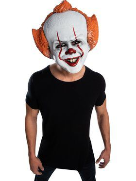 Pennywise Vacuform Mask - It 2 Movie