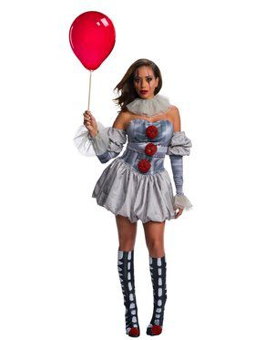 It Female Deluxe Pennywise Costume