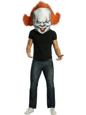 IT Movie Pennywise Mascot Mask Accessory
