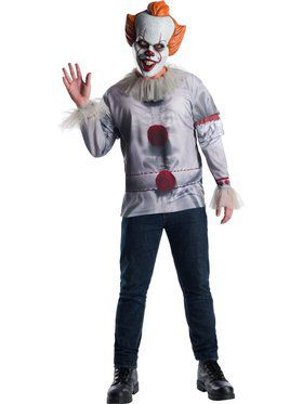 IT Movie: Pennywise Costume Top for Men