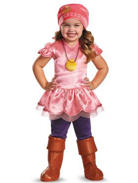 Izzy from Jake and the Neverland Pirate Deluxe Toddler Costume
