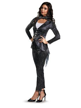 Adult Jack Skellington Female Deluxe Costume