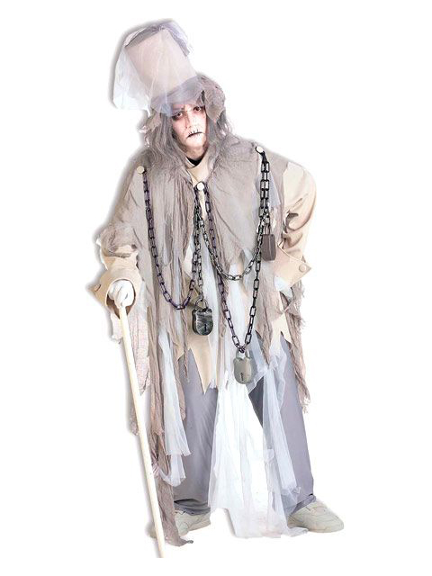 Men's Jacob Marley Costume For Adults