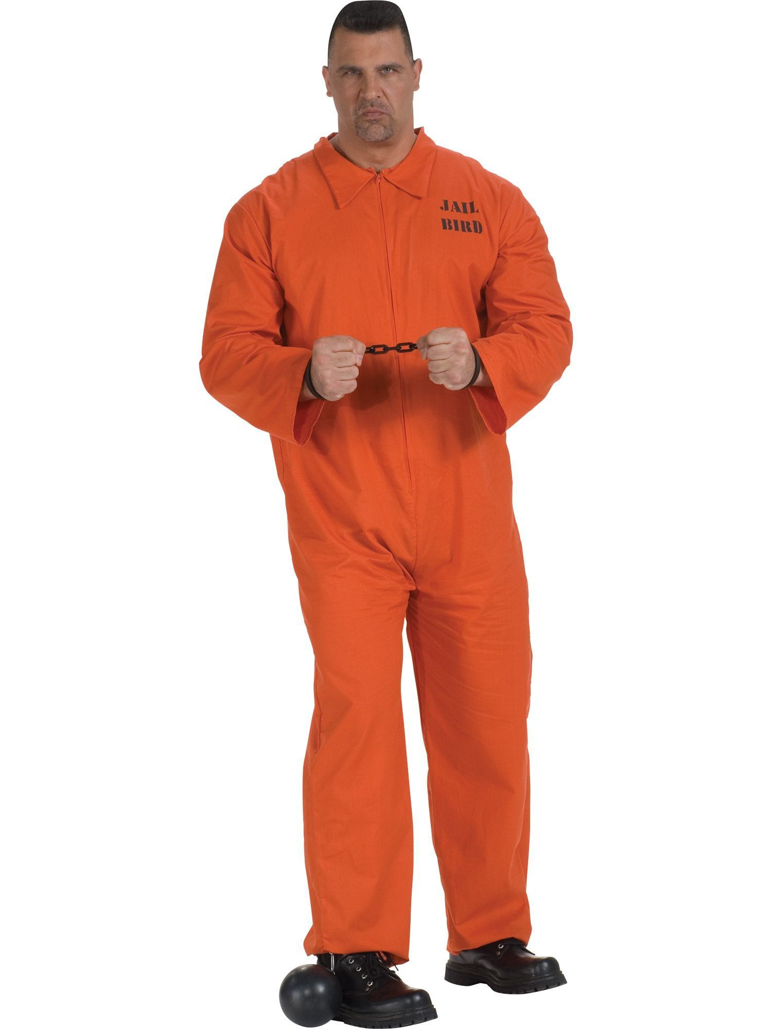 8c1026decce Jail Bird Costume - Mens Costumes for 2018