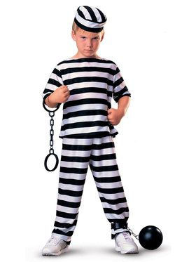 Jailbird Costume For Children