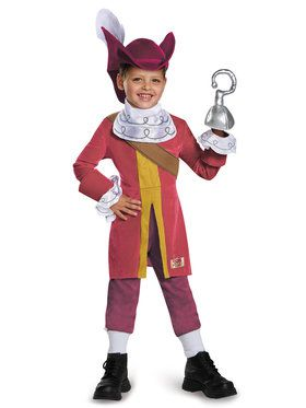 Jake And The Neverland Pirates Captain Hook Deluxe Costume Toddler
