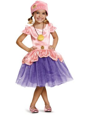 Child Deluxe Izzy Tutu Costume - Captain Jake and the Neverland Pirates