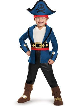 Jake And The Neverland Pirates Jake Deluxe Costume Toddler