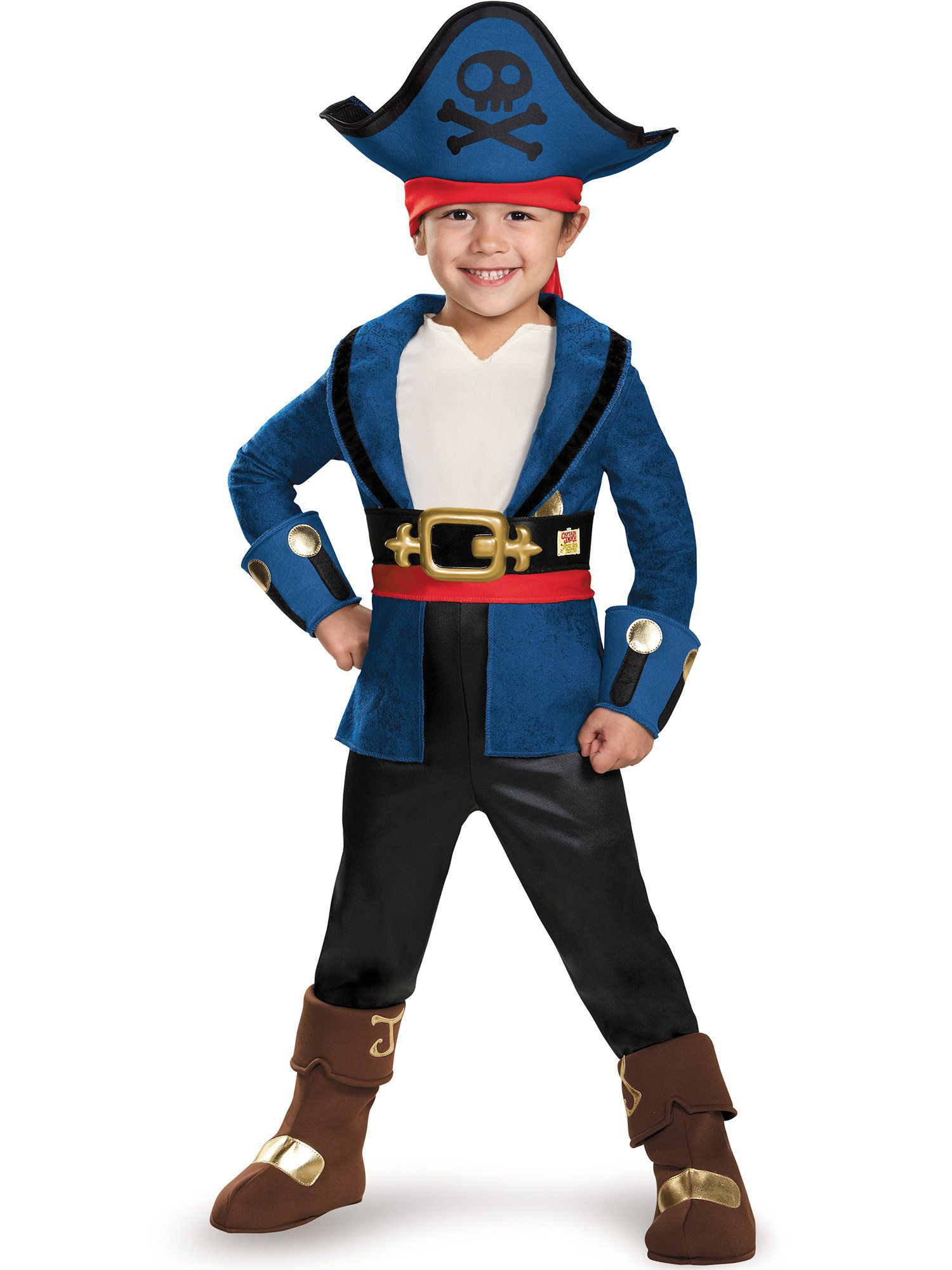 Deluxe Toddler Captain Jake Costume - Captain Jake and the Neverland Pirates  sc 1 st  Wholesale Halloween Costumes & Izzy Deluxe Costume - Jake u0026 the Neverland Pirates Girls Costumes