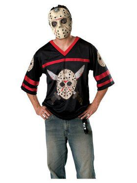 Jason Hockey Jersey Adult Costume