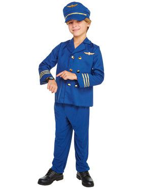 Jet Set Pilot Child Costume