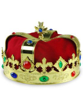 Jeweled Crown with Red Liner