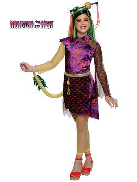 Jinafire Monster High Girl's Costume