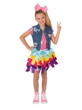 Girl's JoJo Siwa Bow Dress Costume