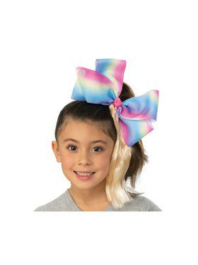 Girl's Jojo Siwa Pink Bow With Ponytail