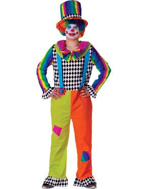 Jolly Clown Adult Costume
