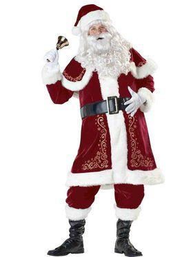 Jolly Ol' St. Nick Adult Santa Suit