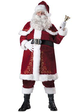 Jolly Ole St. Nick Adult Plus Size Costume