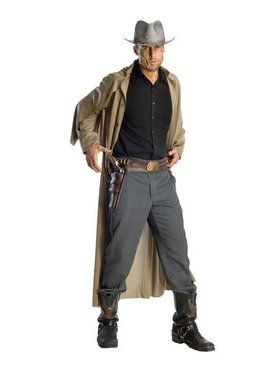 Jonah Hex Molded Vinyl Adult Gun Belt
