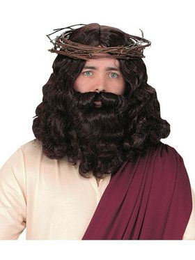 Jesus Wig and Beard Adult