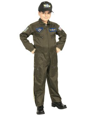 Jr. Fighter Pilot Boys Costume