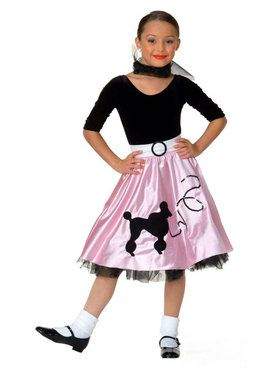 Jukebox Girl Child Costume