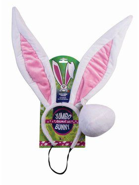 Jumbo Animal Accessory Kit Bunny
