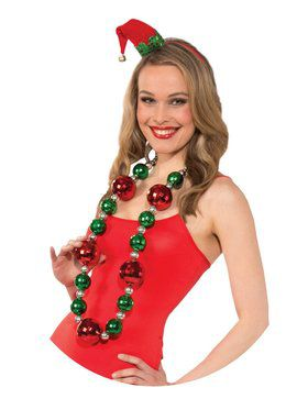 Jumbo Christmas Necklace Accessory