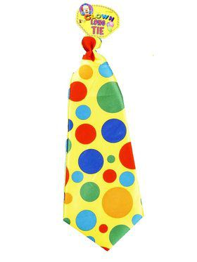 Jumbo Polka Dot Clown Tie