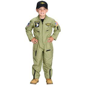 Junior Armed Forces Pilot Child Costume
