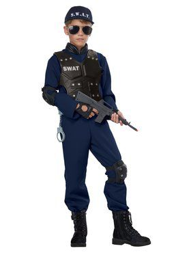 Junior SWAT Costume for Children