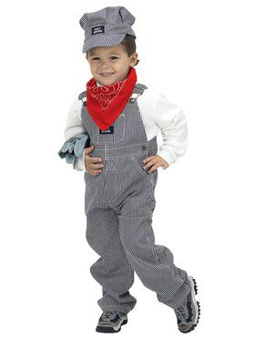 Junior Train Engineer Child Costume