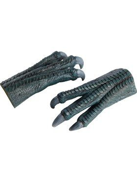 Adult Jurassic World Blue Latex Gloves