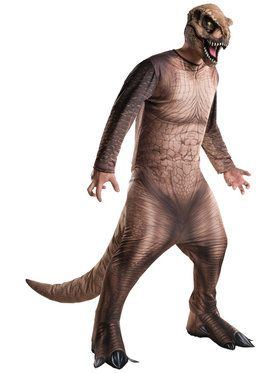 Jurassic World - T. Rex Costume For Adults