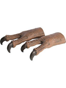 Adult Jurassic World T-Rex Latex Gloves