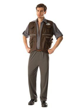 Jurassic World: Deluxe. Owen Adult Costume